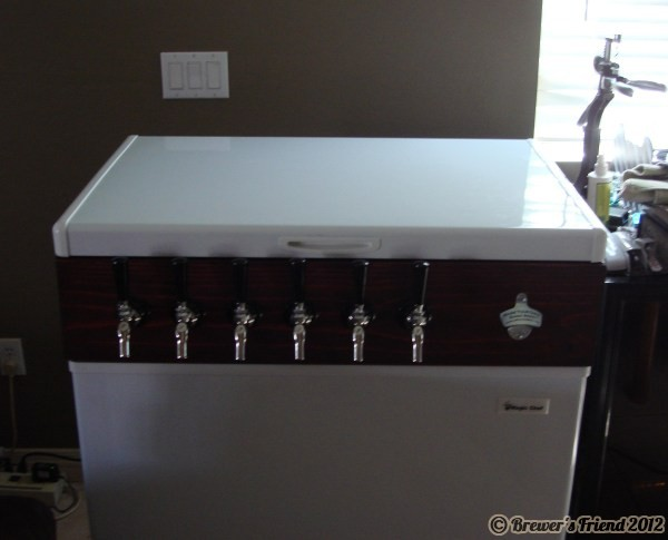 finished keezer