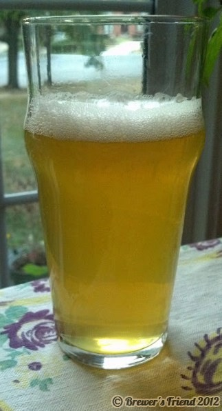 summer shandy with home brew