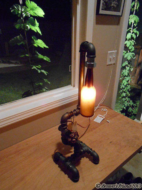 brew shed lamp