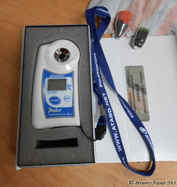 Beer Brewing Digital Refractometer PAL-1
