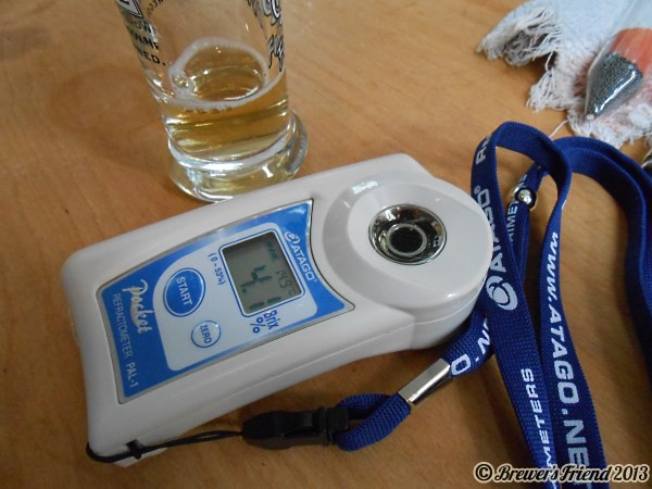 Beer Brewing Digital Refractometer Atago