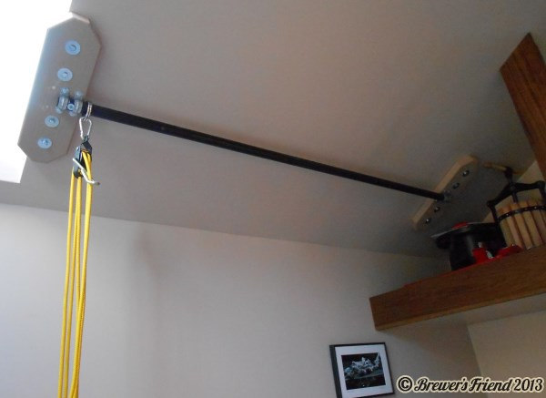 Home Brew Pulley System
